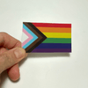 LGBTQ Gay Pride Trans Inclusive Rainbow Flag Sticker Decal/Sticker Buttons For the People