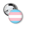 LGBTQIA Pinback Button Collection Trans Flag Pin Pins Buttons For the People