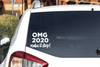 OMG 2020 Make it Stop Vinyl Car Decal Bumper Sticker Decal/Sticker Buttons For the People