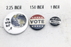Rise Up and Vote Pinback Button 2020 Election Pins Buttons For the People