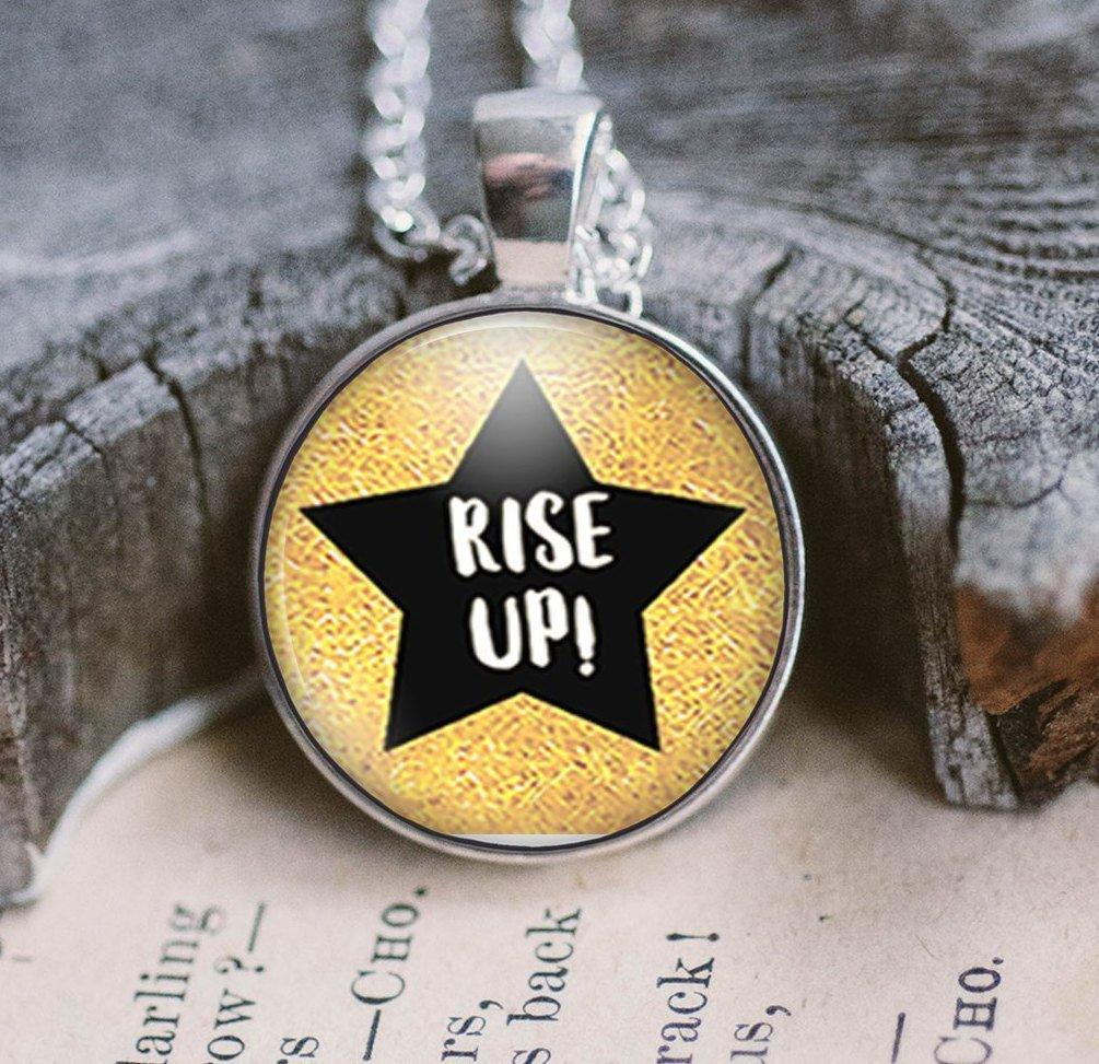 Rise Up Necklace Inspired by Hamilton! Necklaces Buttons For the People