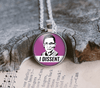 "Ruth Bader Ginsburg RBG Necklace ""I Dissent"" Necklaces Buttons For the People"