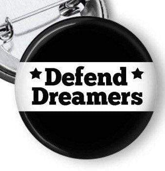 Support The DREAM ACT and the Dreamers Pinback Button Pins Buttons For the People