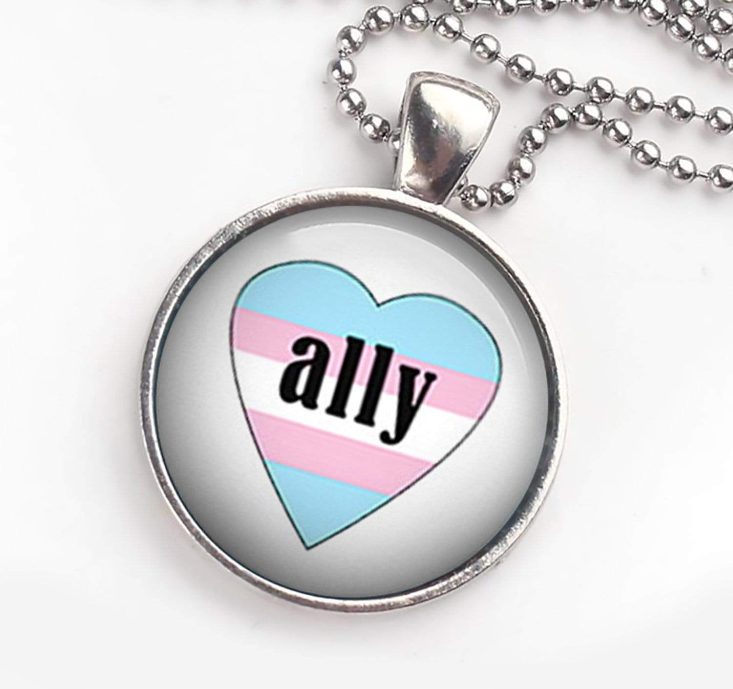 Trans Ally Necklace