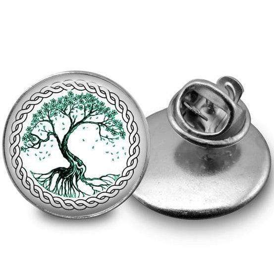 Tree of Life Lapel Pin Lapel Pin Buttons For the People