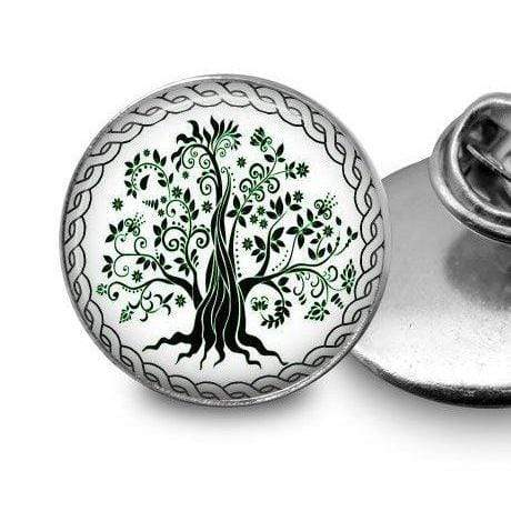 Tree of Life Pin Lapel Pin Buttons For the People