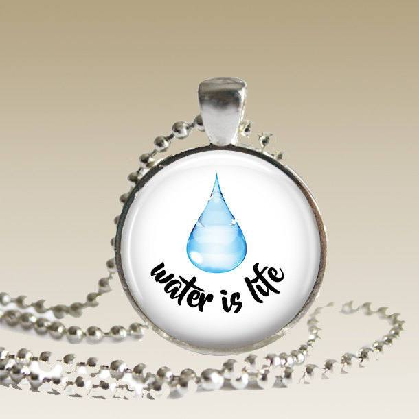 Water Is Life Necklace