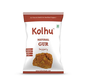 Kolhu Natural Gur 4 KG [Pack of 10, 400g Each]
