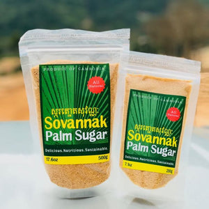 Organic Sovannak Palm Sugar 500g