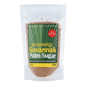 Organic Sovannak Palm Sugar 200g