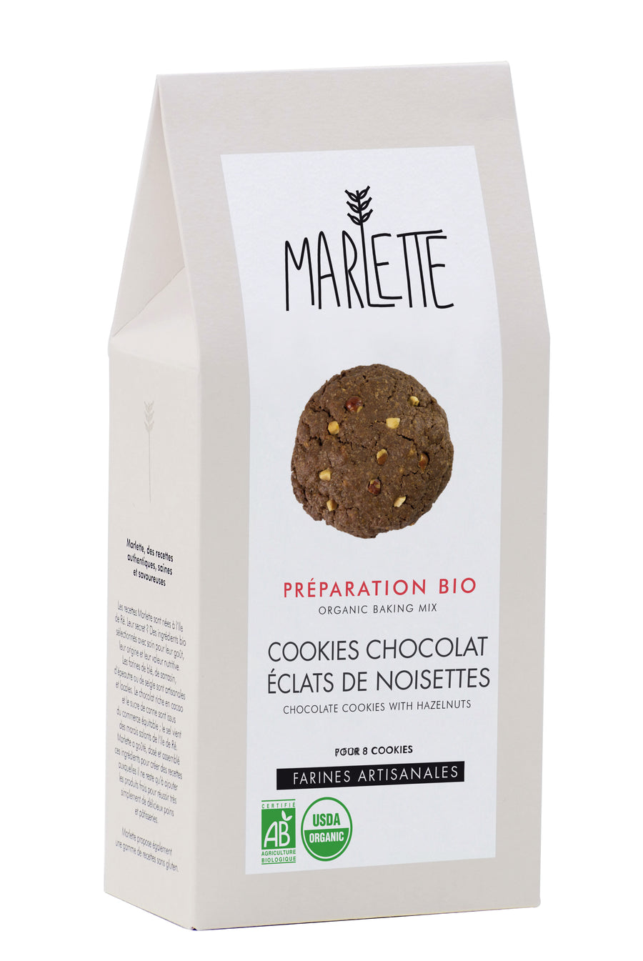 Marlette Chocolate Cookies with Hazelnuts