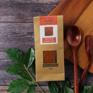 Kampot Pepper Smoky Mix 100g - Flower of Salt