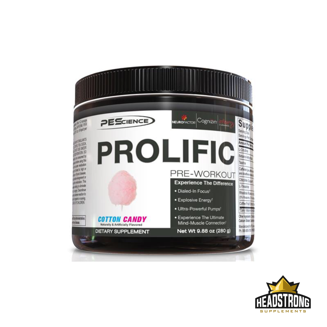 PE Science Prolific Pre Workout (40 Serv.)
