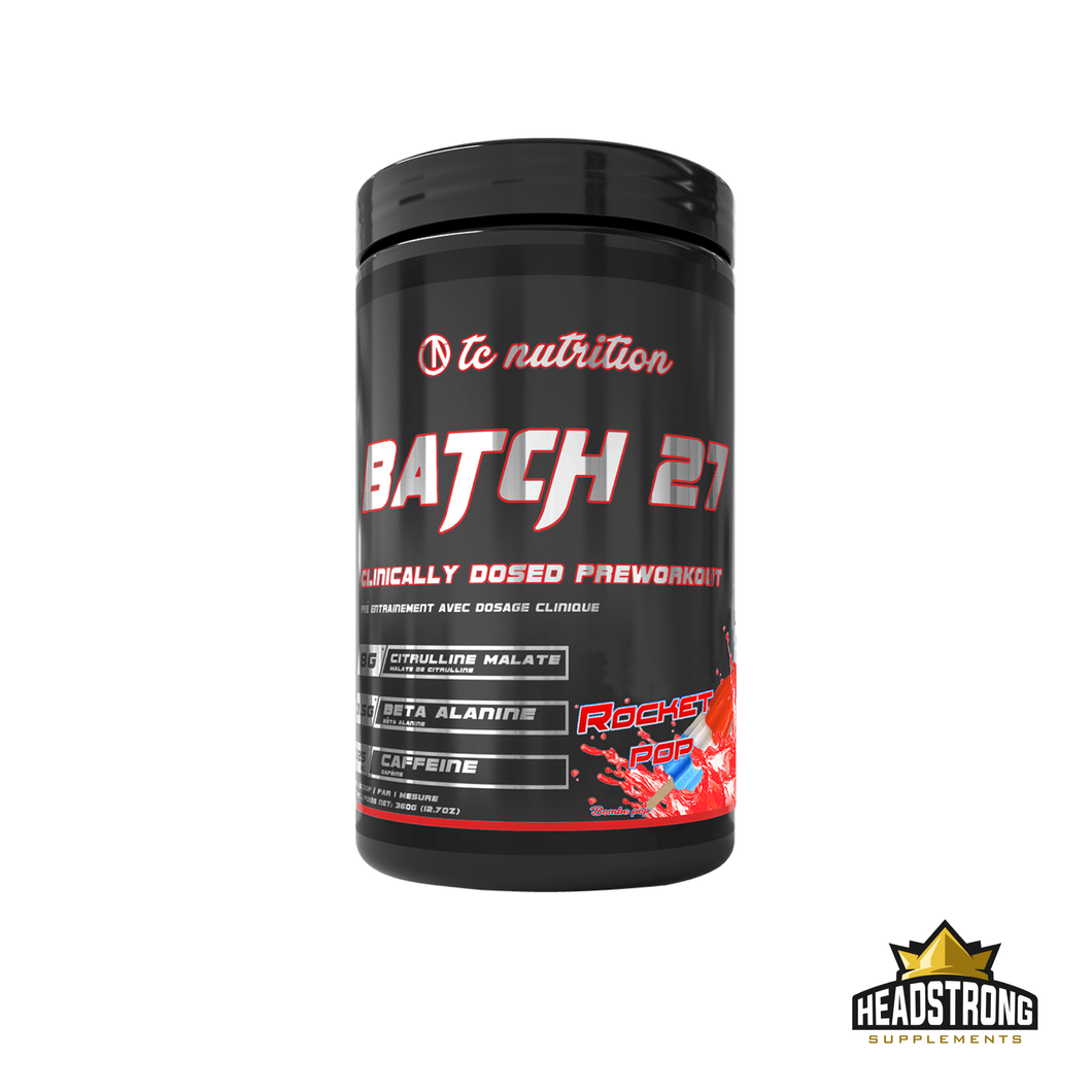 TC Nutriton Batch 27 Pre Workout (20 Serv.)