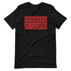 THERAPY IS DOPE (Red)