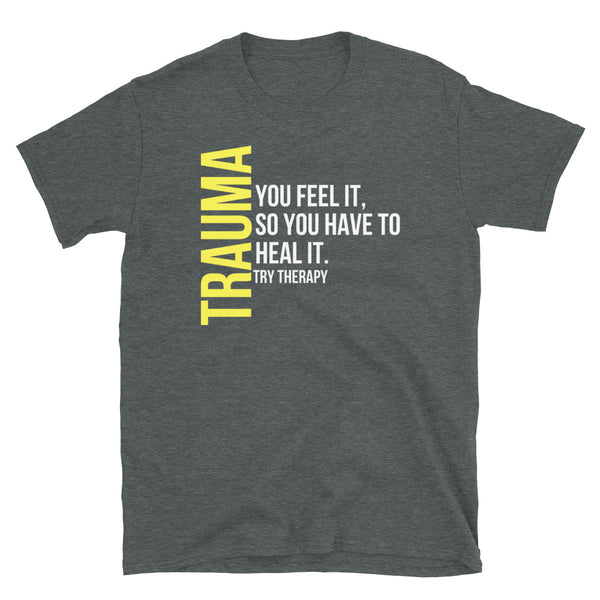 Black and Yellow Trauma T