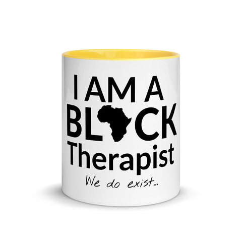 Black Therapist Mug