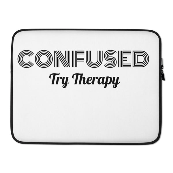 Confused Laptop Sleeve