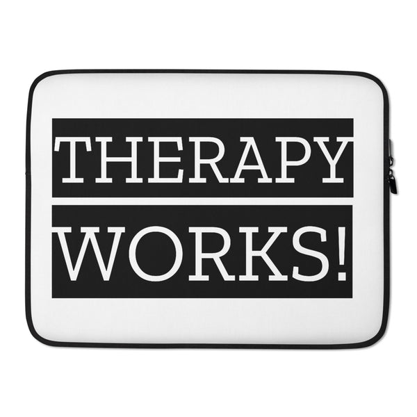 Therapy Works! Laptop Sleeve