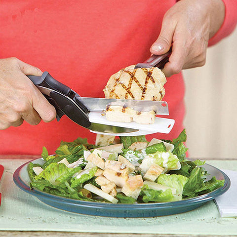 Clever Cutter the 2 in 1 Kitchen Knife