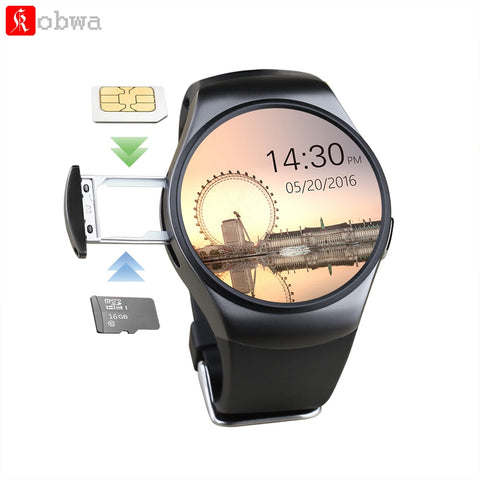 Bluetooth Smartwatch Phone Heart Rate Monitor for ios and Andriod