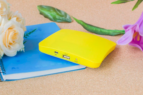 Solar Powered Charger And Power Bank