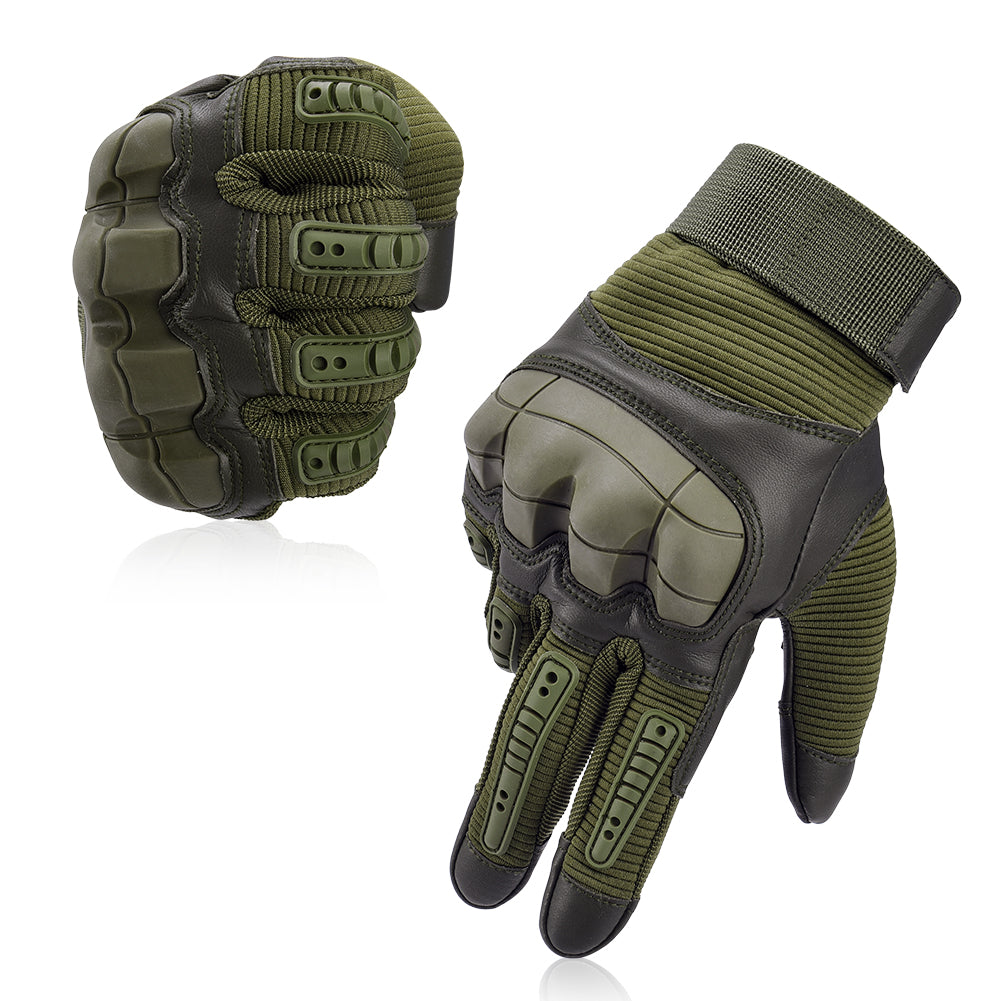 What Are Motorcycle Gloves Made From?
