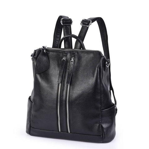 Vbiger-Genuine-Leather-Backpack-Large-Capacity-Tote-Shoulder-Messenger-Bag-for-Women