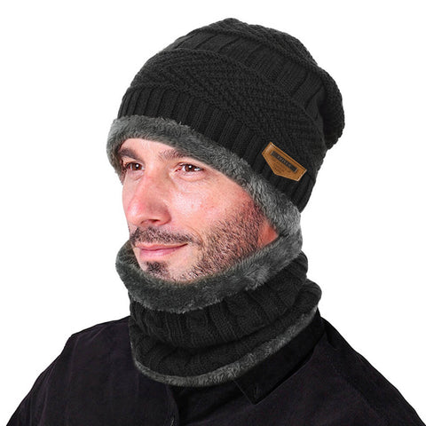 VBIGER 2-Pieces Winter Beanie Hat Scarf Set