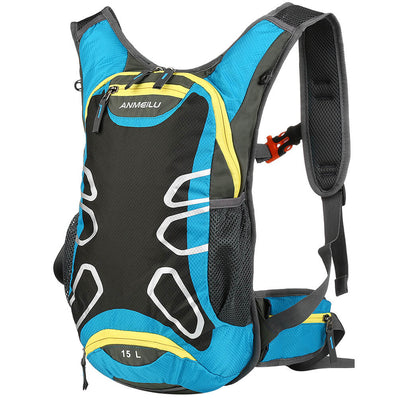 Vbiger 15L Hydration Backpack Splash-proof Cycling Backpack Lightweight Outdoor Daypack