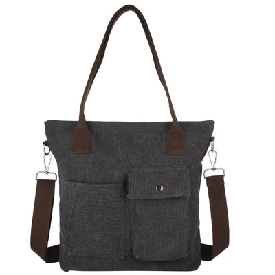 Vbiger Lovely and Fashionable Casual Canvas Single-Shoulder Messenger Bag