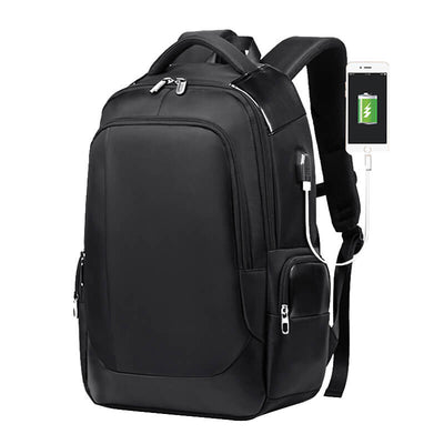 Vbiger Men Breathable Backpack Travel Bag Shoulder Bag with USB Port