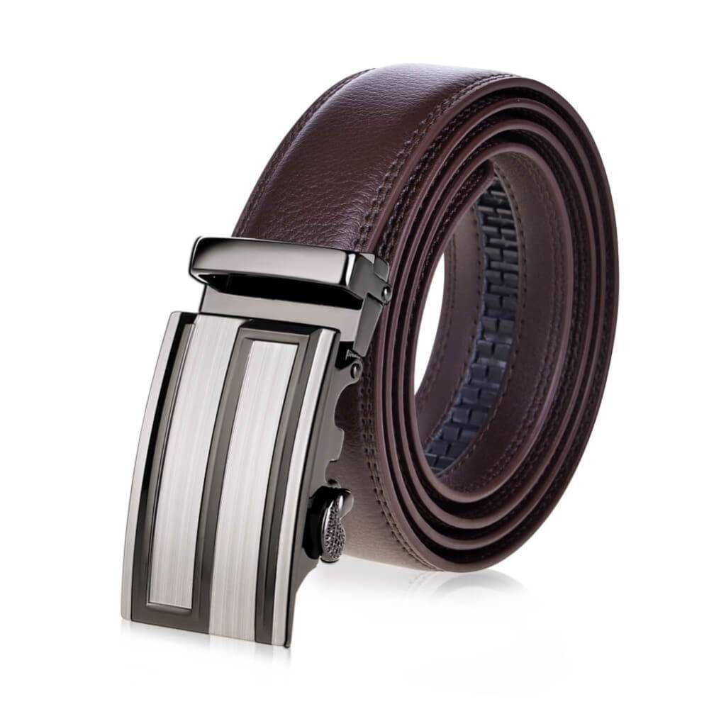 High-End Genuine Top-Level Cowhide Belt with Automatic Buckle