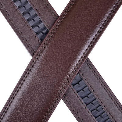 High-End Genuine Top-Level Cowhide Belt with Automatic Buckle - Belt