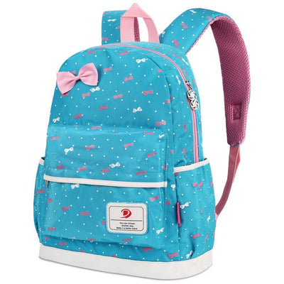 Vbiger 3-in-1 School Bag Waterproof Nylon Shoulder Daypack Polka Dot Bookbags - Backpacks
