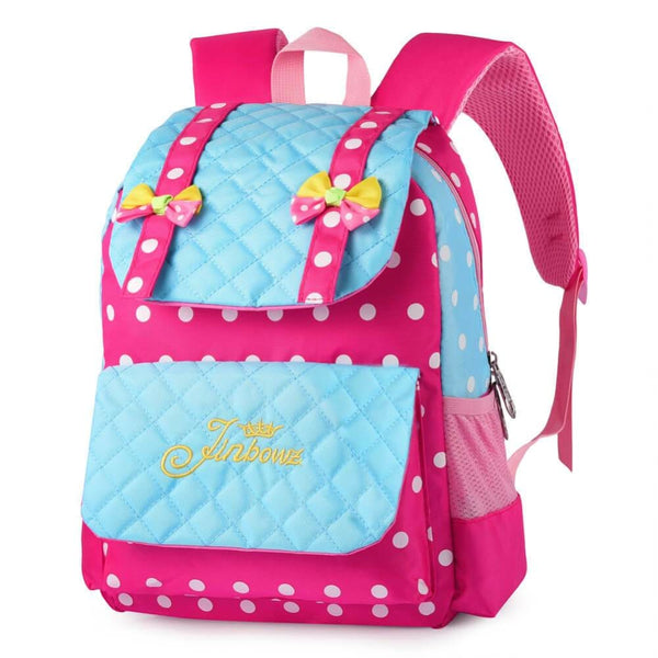 Vbiger Casual School Bag Nylon Shoulder Daypack Children School Backpacks for Teen Girls - Blue - Backpacks