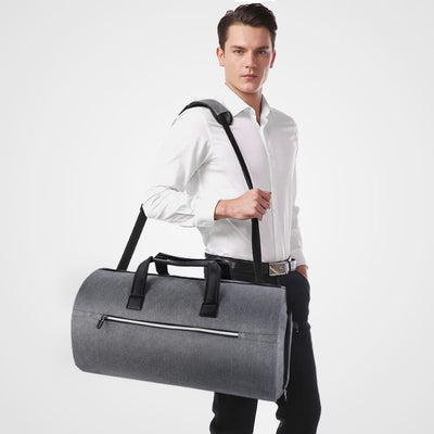 Vbiger Convertible Garment Bag Carry-on Large Duffel Bag Business Travel Bags with Shoulder Strap - Bag