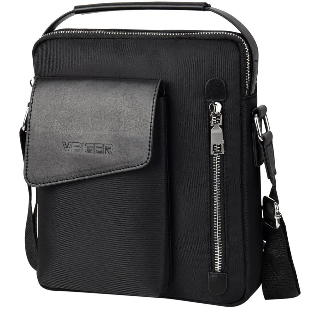 Vbiger Large-capacity Shoulder Bag Casual Business Handbag with Adjustable Shoulder Strap - Bag