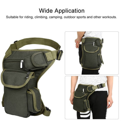 Vbiger Multi-functional Waist Bag Durable Outdoor Sports Fanny Pack - Bag