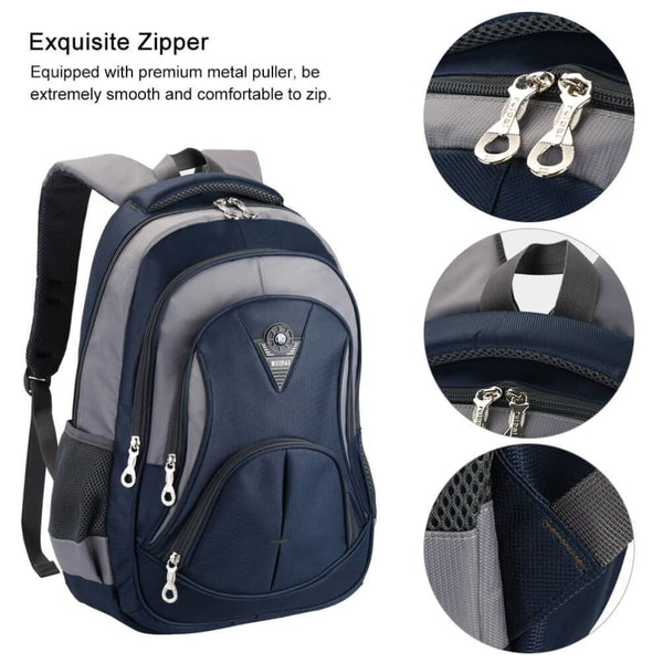 Vbiger New Edition Students Bags Backpack to Decrease Pressure Fashionable Bag in Blue - Bag