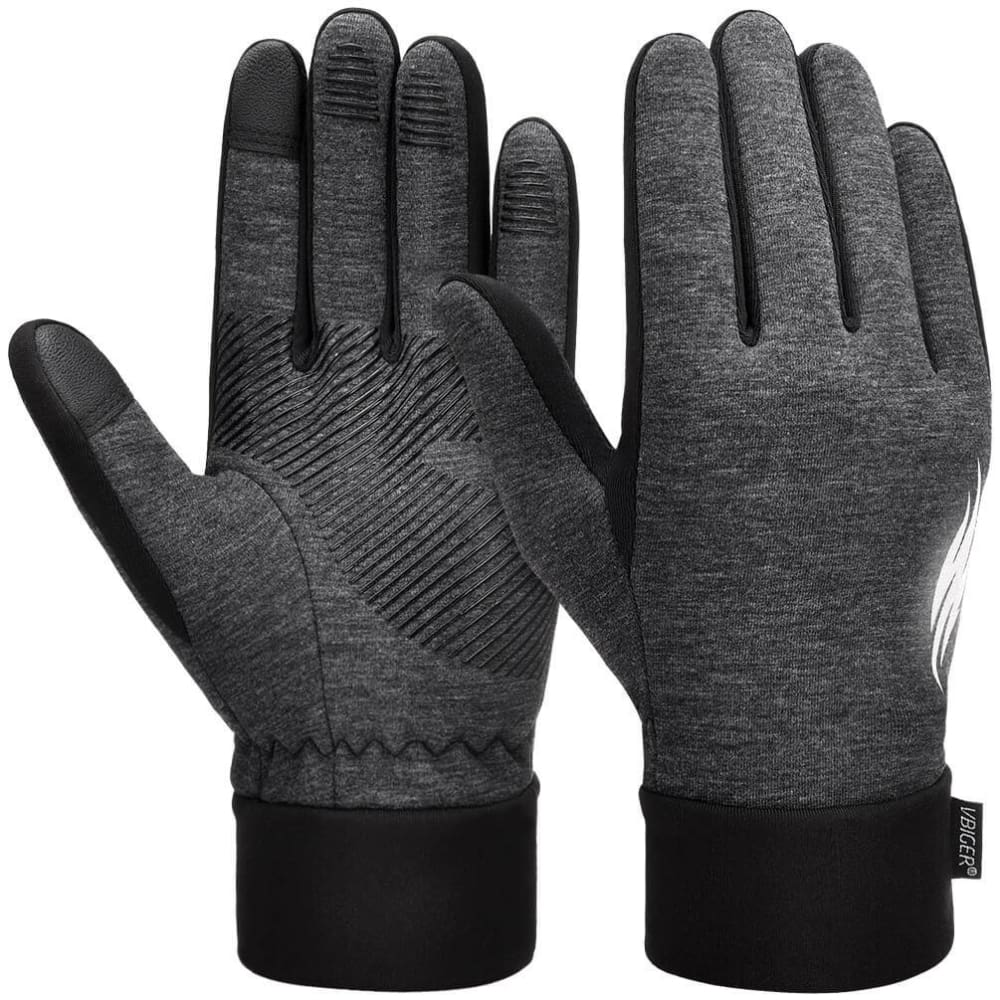 Vbiger Thickened Winter Gloves Warm Touch Screen Gloves Anti-slip Cycling Gloves - S - Gloves