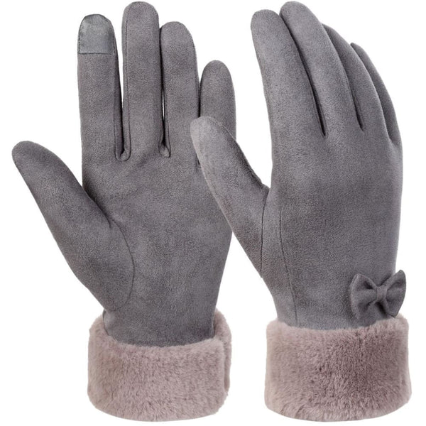 Vbiger Warm Winter Gloves Touch Screen Gloves Thickened Cold Weather Gloves - M - Gloves