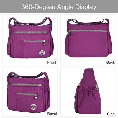 Vbiger Waterproof Shoulder Bag Fashionable Cross-body Bag Casual Bag Handbag for Women - Bag