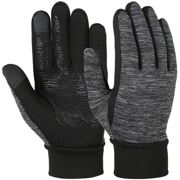 Vbiger Winter Anti-slip Touch Screen Gloves Warm Gloves Flexible Outdoor Sports Gloves for Men and Women - S - Gloves