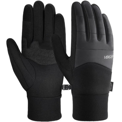 Vbiger Winter Gloves Touch Screen Gloves Anti-slip Cycling Gloves Sport Gloves - M - Gloves