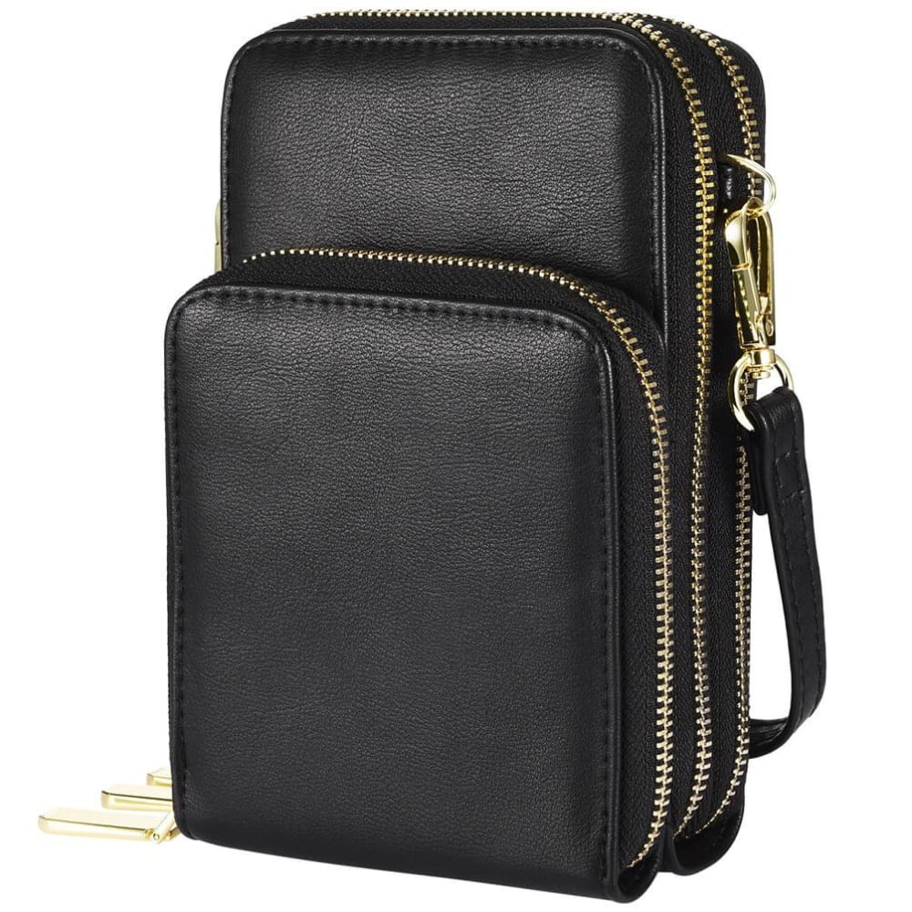 Vbiger Women Handbag Crossbody Bag Shoulder Bag with Large Capacity Black - Bag
