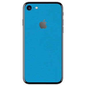iPhone 8 ALCANTARA Blue Skin