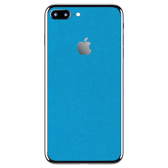 iPhone 7 Plus ALCANTARA Blue Skin