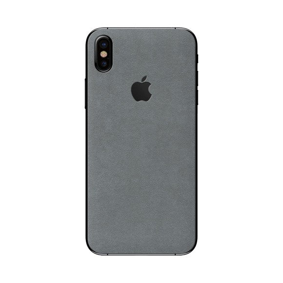 iPhone X ALCANTARA Skin Grey