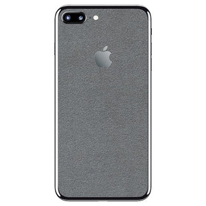 iPhone 8 Plus ALCANTARA Grey Skin